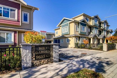 R2217316 - 7 9633 NO. 4 ROAD, Saunders, Richmond, BC - Townhouse