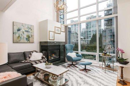 R2217775 - 408 590 NICOLA STREET, Coal Harbour, Vancouver, BC - Apartment Unit