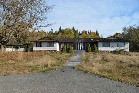R2218449 - 12850 256 STREET, East Central, Maple Ridge, BC - House with Acreage