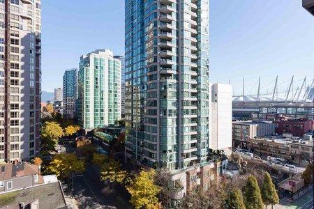 R2218452 - 1201 909 MAINLAND STREET, Yaletown, Vancouver, BC - Apartment Unit