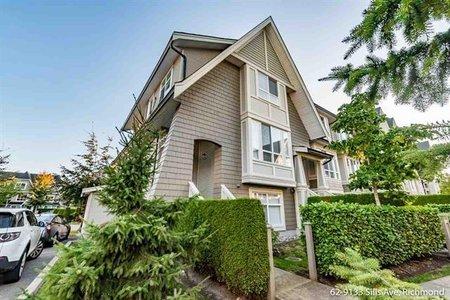 R2218493 - 62 9133 SILLS AVENUE, McLennan North, Richmond, BC - Townhouse