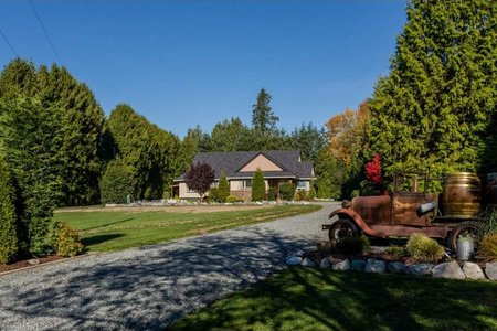 R2218549 - 26089 24 AVENUE, Otter District, Langley, BC - House with Acreage
