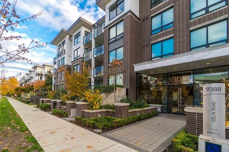 R2218733 - 429 9388 ODLIN ROAD, West Cambie, Richmond, BC - Apartment Unit