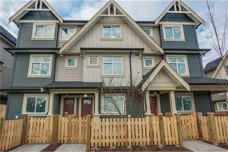 R2219099 - 18 6033 WILLIAMS ROAD, Woodwards, Richmond, BC - Townhouse