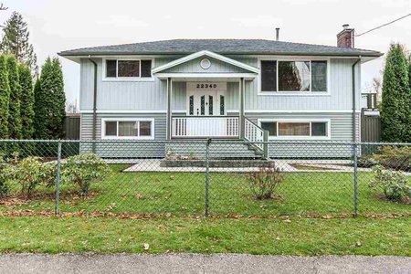 R2219135 - 22340 ST ANNE AVENUE, West Central, Maple Ridge, BC - House/Single Family