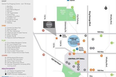 R2219285 - 1312 13308 103A AVENUE, Whalley, Surrey, BC - Apartment Unit