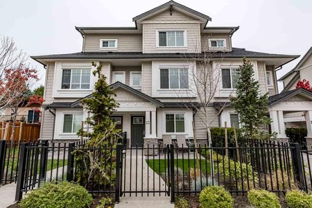 R2219427 - 13 6711 WILLIAMS ROAD, Woodwards, Richmond, BC - Townhouse