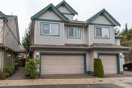 R2219706 - 19 10411 HALL AVENUE, West Cambie, Richmond, BC - Townhouse