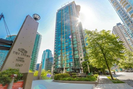 R2219712 - 808 1367 ALBERNI STREET, West End VW, Vancouver, BC - Apartment Unit