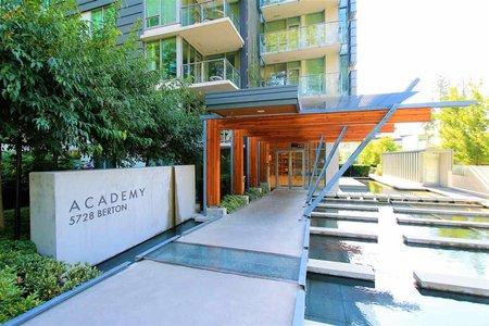 R2219823 - 1208 5728 BERTON AVENUE, University VW, Vancouver, BC - Apartment Unit