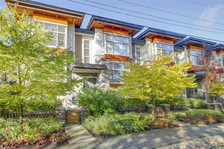 R2220788 - 5 3025 BAIRD ROAD, Lynn Valley, North Vancouver, BC - Townhouse