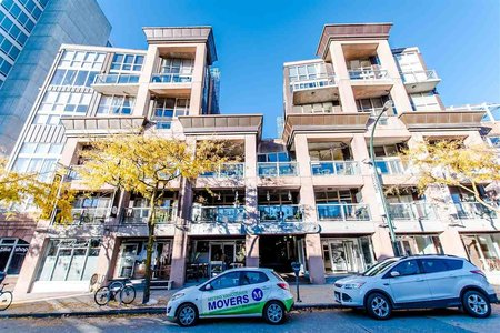 R2220891 - 204 1529 W 6TH AVENUE, False Creek, Vancouver, BC - Apartment Unit