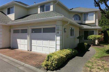 R2221907 - 34 8051 ASH STREET, Garden City, Richmond, BC - Townhouse