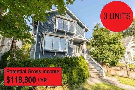 R2222094 - 3315-3319 W 3RD AVENUE, Kitsilano, Vancouver, BC - House/Single Family