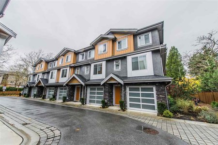 R2222519 - 2 7411 MOFFATT ROAD, Brighouse South, Richmond, BC - Townhouse