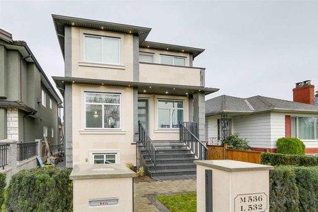R2223488 - 536 E 55TH AVENUE, South Vancouver, Vancouver, BC - House/Single Family
