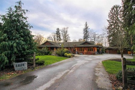 R2224294 - 13115 EDGE STREET, East Central, Maple Ridge, BC - House with Acreage