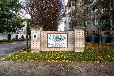 R2224963 - 109 20453 53 AVENUE, Langley City, Langley, BC - Apartment Unit