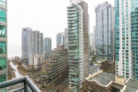 R2225169 - 1901 1328 W PENDER STREET, Coal Harbour, Vancouver, BC - Apartment Unit
