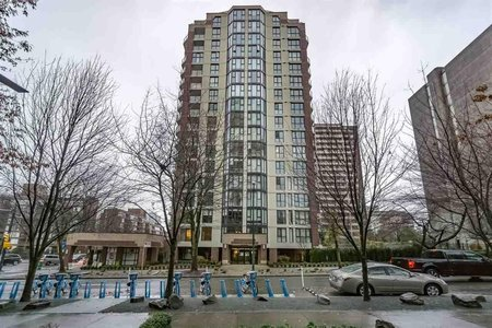 R2226108 - 301 1010 BURNABY STREET, West End VW, Vancouver, BC - Apartment Unit