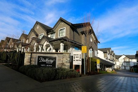 R2228049 - 28 14271 60 AVENUE, Sullivan Station, Surrey, BC - Townhouse