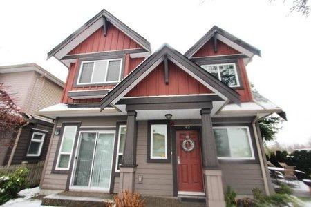 R2229082 - 42 9699 SILLS AVENUE, McLennan North, Richmond, BC - Townhouse