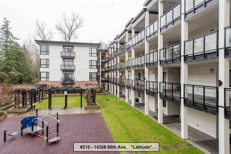 R2230639 - 210 14358 60 AVENUE, Sullivan Station, Surrey, BC - Apartment Unit