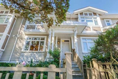 R2230953 - 871 W 59TH AVENUE, South Cambie, Vancouver, BC - Townhouse