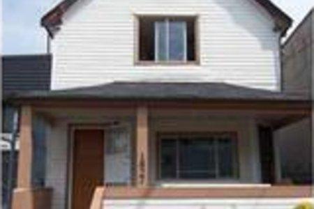 R2231248 - 1827 PANDORA STREET, Hastings, Vancouver, BC - House/Single Family