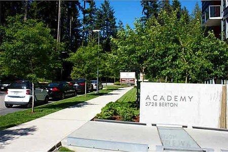 R2232467 - 305 5728 BERTON AVENUE, University VW, Vancouver, BC - Apartment Unit