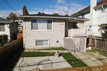 R2235439 - 4939 RUPERT STREET, Collingwood VE, Vancouver, BC - House/Single Family