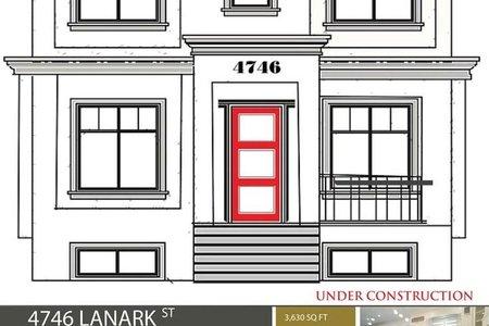 R2235861 - 4746 LANARK STREET, Knight, Vancouver, BC - House/Single Family