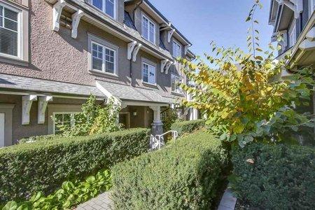 R2236654 - 1493 TILNEY MEWS, South Granville, Vancouver, BC - Townhouse