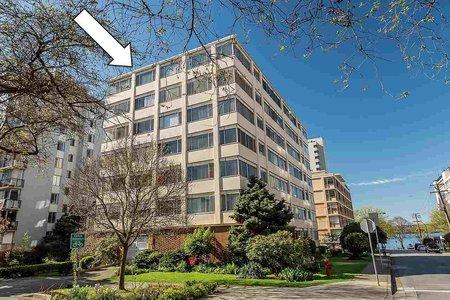 R2236680 - 706 1050 CHILCO STREET, West End VW, Vancouver, BC - Apartment Unit
