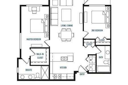 R2239204 - 206 14605 MCDOUGALL DRIVE, King George Corridor, Surrey, BC - Apartment Unit
