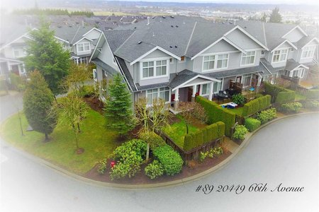 R2239327 - 89 20449 66TH AVENUE, Willoughby Heights, Langley, BC - Townhouse