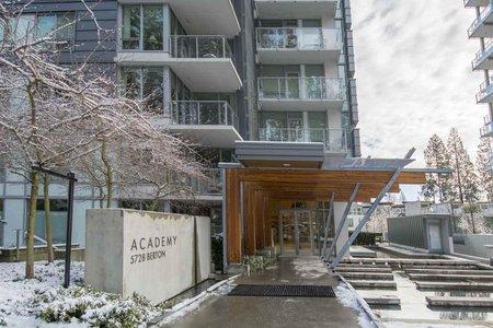 R2240287 - 1109 5728 BERTON AVENUE, University VW, Vancouver, BC - Apartment Unit
