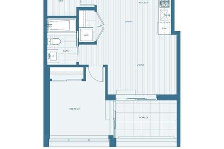 R2242421 - 605 2220 KINGSWAY STREET, Victoria VE, Vancouver, BC - Apartment Unit