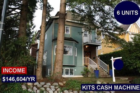 R2242500 - 2393 W 6TH AVENUE, Kitsilano, Vancouver, BC - House/Single Family