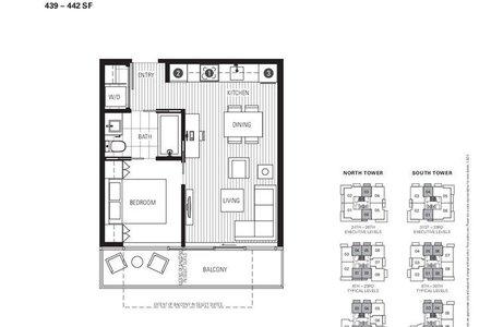 R2242908 - 1101 8131 NUNAVUT LANE, Marpole, Vancouver, BC - Apartment Unit