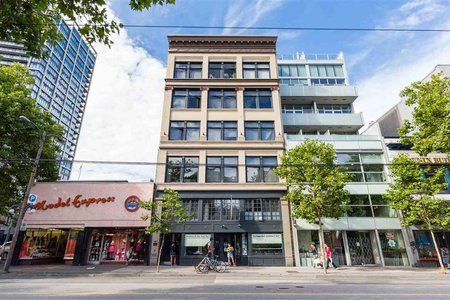 R2242946 - 602 53 W HASTINGS STREET, Downtown VW, Vancouver, BC - Apartment Unit