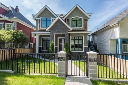 R2246024 - 3582 FRANKLIN STREET, Hastings East, Vancouver, BC - House/Single Family