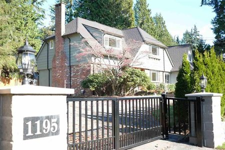 R2246299 - 1195 SUTTON PLACE, British Properties, West Vancouver, BC - House/Single Family