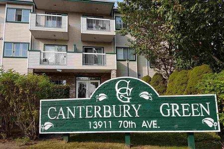 R2246415 - 325 13911 70 AVENUE, East Newton, Surrey, BC - Apartment Unit