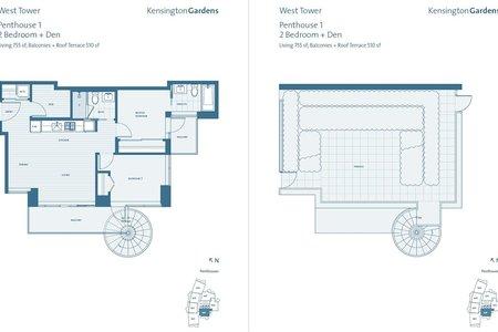 R2247180 - W PH-1 2220 KINGSWAY, Victoria VE, Vancouver, BC - Apartment Unit