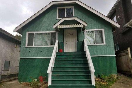 R2248368 - 2541 E BROADWAY, Renfrew VE, Vancouver, BC - House/Single Family