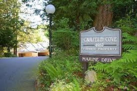 R2249440 - 9 4957 MARINE DRIVE, Olde Caulfeild, West Vancouver, BC - Townhouse