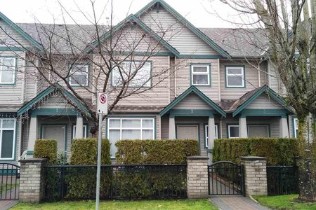 R2250162 - 2 10411 HALL AVENUE, West Cambie, Richmond, BC - Townhouse
