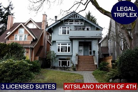 R2253139 - 3663 W 2ND AVENUE, Kitsilano, Vancouver, BC - House/Single Family