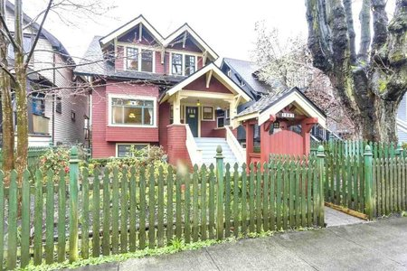 R2253793 - 2862 W 3RD AVENUE, Kitsilano, Vancouver, BC - House/Single Family